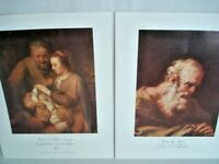 Dr. Alfred Bader Collection Lot of 2 Art Prints 11x14 in. Pellegrini & Eeckhout