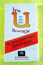 How U Like Me Now ~ New VHS Movie Screener Promo Demo 1992 Romantic Comedy Video