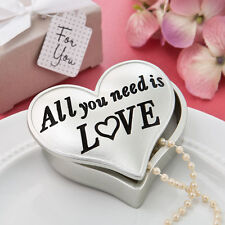 All You Need Is Love Poly Resin Favor Boxes Bridal Shower Wedding Favors