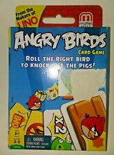 Angry Birds UNO Card Game From Mattel Knock Out The Pigs