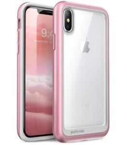 ROSEGOLD SUPCASE iPhone X Case Unicorn Beetle Style Premium Hybrid Protective