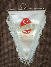 BIG SIZE 1990's TURKEY VOLLEYBALL Federation OFFICIAL Pennant Streamer TURKISH