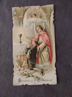 Image pieuse Souvenir de premiere communion  Edition N.V 525
