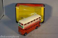 CORGI 469 LONDON TRANSPORTER BUS OXOXO MINT BOXED!!!