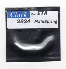 "ETA 2824-2 2836-2 MainSpring ""CLARK"" Fits many ETA Movements"
