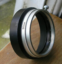 Canon Lens hood S-50 50mm clamp on over 48mm for 50mm 1.4 rangefinder