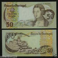 Portugal 50 Escudos Paper Money 1980 UNC