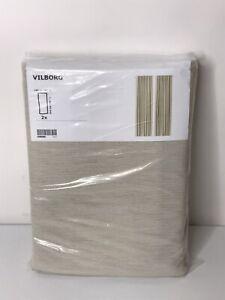 IKEA Vilborg Curtains 98x57 / 002.975.53 - New