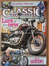 Classic Bike Guide April 2017 Triumph Bonneville Trackmaster Moto Guzzi V7 Ariel