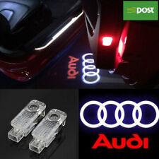 AUDI Car Door Lights X2 AG2 LED Projector Puddle Courtesy Laser LOGO Lights