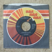 "ALABAMA Christmas in Dixie/Is Just A Song For Us This Year 7"" 45RPM RCA PB-13358"