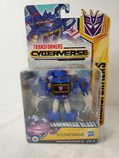 TRANSFORMERS CYBERFORCE WARRIOR CLASS LASERBREAK SOUNDWAVE