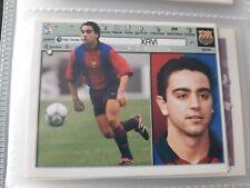 EDICIONES ESTE 2001 2002 XAVI FC BARCELONA NUEVO DE SOBRE
