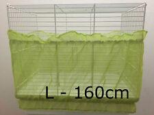 BIRD Cage ordinato sementi inosservato Guard Felpe tessuto doppio cinturino verde grande 160 cm