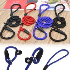 Nylon Pet Dog Lead Puppy Walking Slip Collar Rope Strap Training Leash