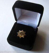 Current Girl Scout MINI GOLD AWARD PARENT PIN Senior Highest Award NEW Gift Box