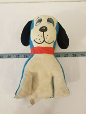 Vintage Superior Toy & Novelty Stuffed Dog Carnival Fair Prize