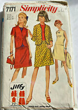 New ListingVintage 1967 Simplicity Sewing Pattern Separates 7171 Miss Size 16