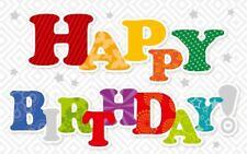 Geburtstagsteelicht Geburtstag Geburtstagkarte Kerze Teelicht Happy Birthday
