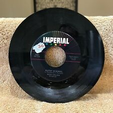 Ricky Nelson Waitin' in School/Stood Up 45 RPM Vinyl Imperial Records 5483