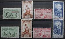 1942-Colonie Francesi- Indocina+Kouang Tcheou-Posta Aerea-MNH**