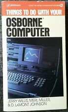 Things To Do With Your Osborne Computer 1st Print 1983 Vintage Electronics Rare!