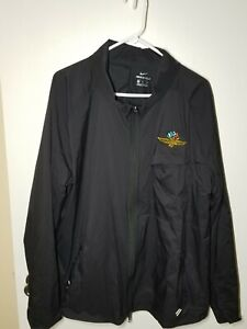 Nike Shield Indianapolis Motor Speedway Rain Jacket Hood XL Rare