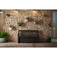 Outdoor Patio Bench with built in 70 Gallon Storage Deck Box