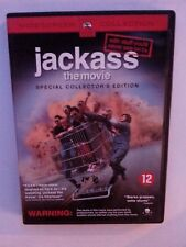 JACKASS THE MOVIE SPECIAL COLLECTOR'S EDITION DVD JOHNNY KNOXVILLE STEVE-O