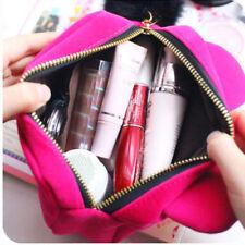 HOT Cute Cartoon Cat Makeup Bag Cosmetic Purse Storage Pencil Case Ladie Pink