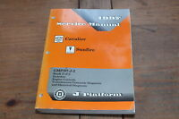 Cavalier Sunfire Engine Controls Trans Electrical 1997 Chevy Shop Service Manual