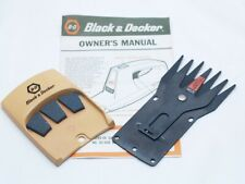 Black & Decker Cordless Electric Shear Manual, Blade, and Sharpener. 8285-06