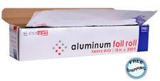 Aluminum Foil Roll, Heavy Duty, 18