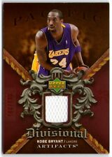 KOBE BRYANT 07 UD ARTIFACTS LA LAKERS GAME-USED JERSEY CARD #100/100!