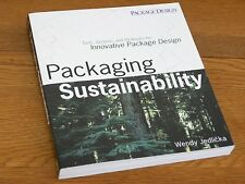 Packaging Sustainability Graphic Design Wendy Jedlicka Paperback NEW Unread 2009