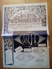 LE JOURNAL DES BRODEUSES JOURNAL PROFESSIONNEL N°766 - 1959