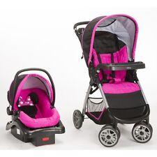 NEW Disney Baby Minnie Travel System Car Seat Stroller INTERNATIONAL SHIPPING