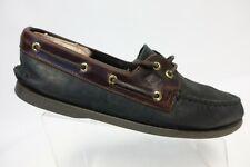 SPERRY TOP-SIDER A/O 2-Eye Black Sz 11 M Men Boat Shoes