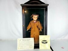 "Ashley Belle Fine Bisque Porcelain Native American Doll ""Big Horse"" with Case"