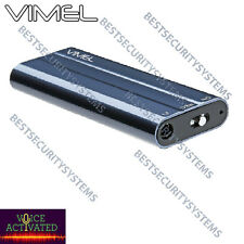 Voice Recorder Listening Device Vimel Audio Voice Activated No Spy Hidden