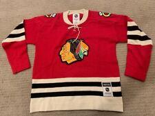 Vintage Chicago Blackhawks CCM Heritage NHL Sweater Sz Small