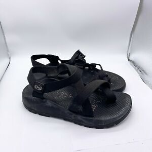 Chaco Sandals Women's 7 Black Z2 Classic Hiking Shoes Toe Loop Strappy