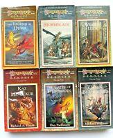 Dragonlance Heroes I & II VTG TSR Complete Books 1-6 The Legend Of Huma D&D