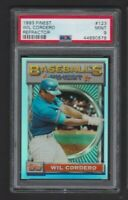 1993 TOPPS FINEST REFRACTOR #123 WIL CORDERO EXPOS GRADED PSA 9 MINT RARE SP/241