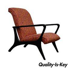 Sam Moore Greyhound Club Lounge Arm Chair Mid Century Modern Vladimir Kagan Styl