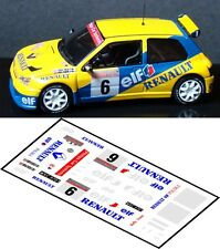 DECALS 1/43 RENAULT CLIO MAXI  #6 - KULIG - RAJD KARKONOSKI 1996 - MFZ D43084