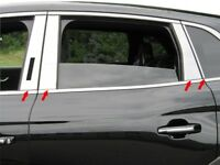 8PC Stainless Steel Pillar Post Trim - PP56662 For LINCOLN MKX 2016-2018