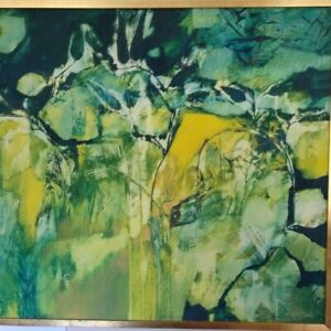 Original Painting by West Australian artist Diana Johnston. Oil on board Signed