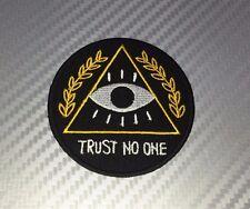 Eye of Horus Egyptian GOD Ancient Masonic Embroidered Patch Iron Sew Logo Emblem