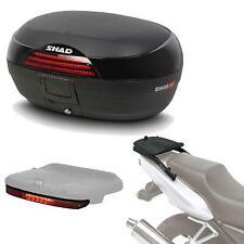 Kit fijacion y maleta baul trasero + luz de freno regalo SH46 compatible con SU
